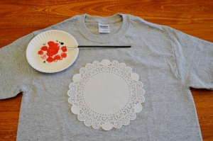 doily t-shirt