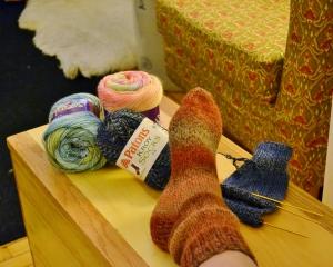 patons knit sock
