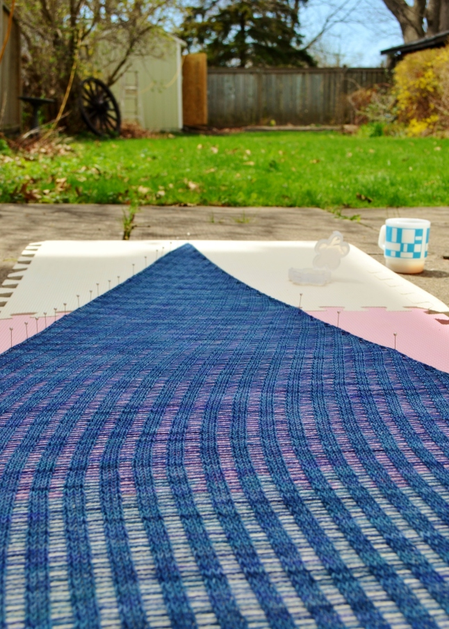 yarn blocking